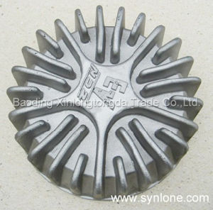 Iron Sand Casting with Marks on The Bottom pictures & photos