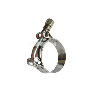 T Bolt Hose Clamp on Pipe Coupling with Flexible pictures & photos
