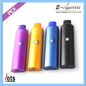 2014 New Arrival 1600mAh LEDs Pex Dry Herb Vaporizer with Fast Smoking-Vapor Design From Shenzhen Lotstech