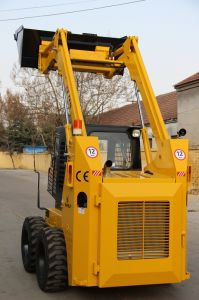 Hot Sale European Standard Mini Skid Steer Loader with Competitive Price pictures & photos