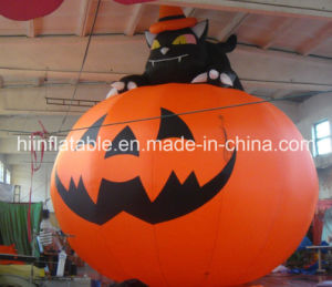 Advertising Inflatable Pumpkin Cat/Cat Pumpkin for Advertising/Advertising Cat Pumpkin W104