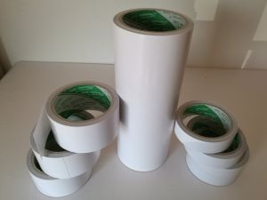 White Cotton Paper Double Sided Tissue Tape for The Fixation of Decoration pictures & photos
