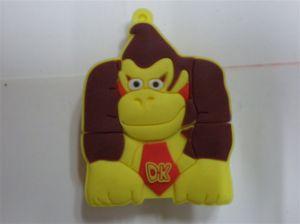 Cute Lovely Monkey USB Disk PVC Cartoon Animal USB Flash Drive