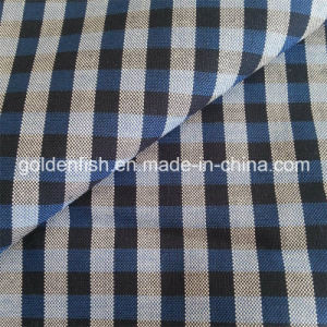 100% Cotton Checked Grid Shirt Fabric 40*40/120*100