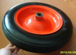 14*4 Inch Solid Rubber Wheel pictures & photos