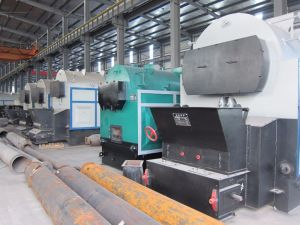 Chain Grate, Wood Chip Biomass Pellet Horizontal Steam Boiler pictures & photos