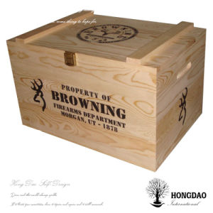 Hongdao Christmas Wood Gift Box_C pictures & photos