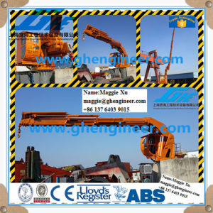 Knuckle Telescopic Marine Crane Hoisting Machine pictures & photos