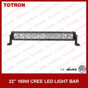 Bright LED Light Bar Single Row with 10W CREE LEDs (TLB5100) pictures & photos