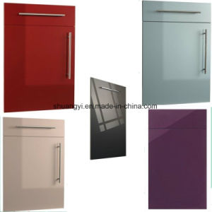 White Lacquer High Gloss Modular China Modern Kitchen Cabinet pictures & photos