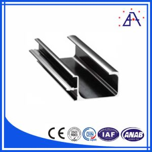 Customized 6063-T5 Aluminium Corner Profile for Showcase pictures & photos