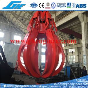 8cbm Electrical Hydraulic Orange Peel Grab Bucket pictures & photos