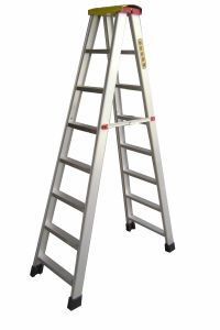 High Quality 6m Daily-Work Aluminum Ladder pictures & photos