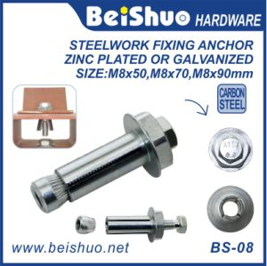M8X14X50mm Zinc Plated High Tensile Hilti Anchor Bolt for Steelwork pictures & photos