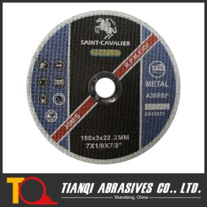 180X3 Abrasive Cutting Disc with En12413 and ISO9001 Certificate pictures & photos