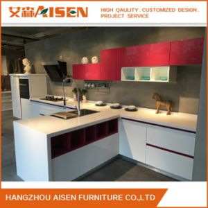 Good Quality High Gloss Lacquer Kitchen Cabinets pictures & photos