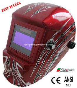 Solar Cells+AAA Battery 4/9-13 Auto Darkening Welding Mask (G1190TB) pictures & photos