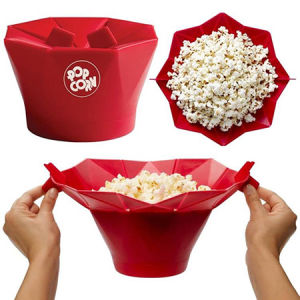 Silicone Microwave Popcorn Maker pictures & photos