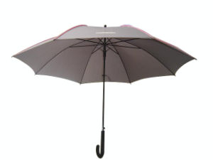 Good Quality Auto Open Straight Advertising Umbrella (AU004) pictures & photos