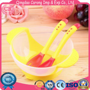BPA Free Food Grade PP Baby Infant Feeding Bowl with Spoon pictures & photos