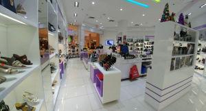Woman Shoe Store Display Rack Shelf Shoe Shop Design pictures & photos