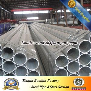 Galvanized ERW Steel Pipe for Low Pressure Liquid pictures & photos