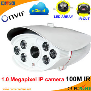 720p Weatherproof IR P2p 1.0 Megapixel IP Web Camera pictures & photos