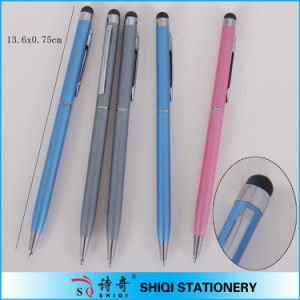 2013 Fashion Slim Promotional Screen Ballpoint Pen