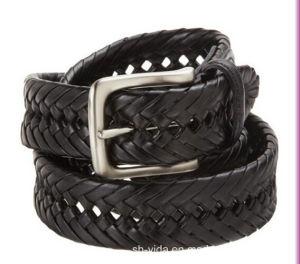 New Fashion Genuine Leather Braided Belt for Men (YD-15041)