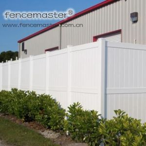 Heavy-Duty Vinyl Privacy Fencing pictures & photos