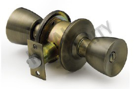 Cylindrical 588 Knob Door Lock (WS570AB-BK) pictures & photos
