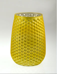 Yellow Pineapple Candle Holder pictures & photos