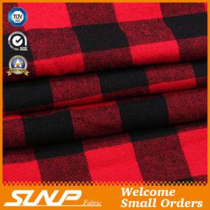 2016 Checks 100% Cotton Yarn Dyed Shirting Fabric