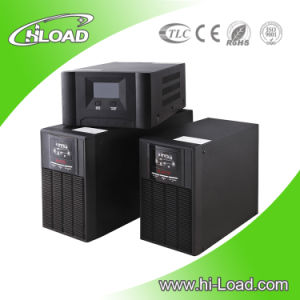 Pure Sine Wave Online UPS 6kVA with 12V 7ah Battery pictures & photos