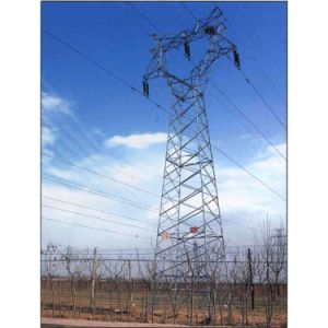 Sangao Premium Quality Transmission Line Steel Pipe Tower pictures & photos