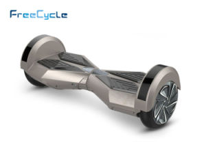 Bluetooth Music LED 8 Inch Hoverboard Electric Motorcycle 2 Wheel Electric Standing E Scooter with 400W Brushless Motor pictures & photos