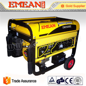 2kw Three Phase Gasoline Generator 100%Copper Wire pictures & photos