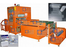 Automatic PVC Box Creasing High Frequency Welding Machine