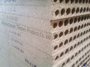 Tubular Hollow Core Chipboard/Particle Board for Door pictures & photos