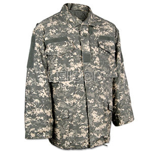 Military Uniform Acu Parka Use 100% Cotton Camouflage Material pictures & photos