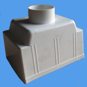 PVC Drainage Pipe Fittings Square Roof Drain pictures & photos