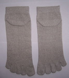Five Toes Silver Sock pictures & photos