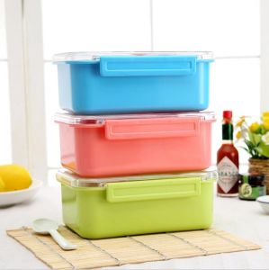 Leakproof Reusable Food Container; Bento Lunch Box; Configurable Compartment pictures & photos