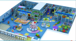High Quality Kids Indoor Playground Equipment (NC-IP208) pictures & photos