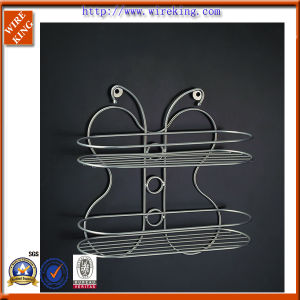 Metal Wire Rack Bathroom Accessory Bathroom Rack (WK120886)