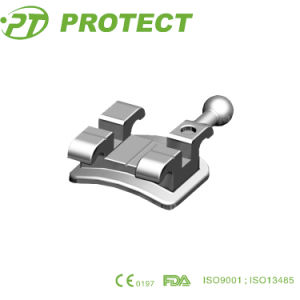 Dental material Metal Mbt Brackets Orthodontic pictures & photos