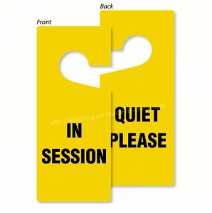Double Sides Print Door Hang Tag for Session and Pop pictures & photos