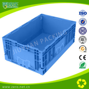 Anti-Impact Modified PP Material Plastic Folded Crate
