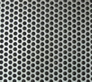 316 Staniless Steel Oil Filters Punched Mesh pictures & photos