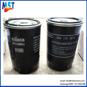 High Quality Auto Parts Oil Filter Fuel Filter 034115561A for Volkswagen pictures & photos